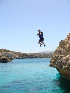 Coasteering At Kalathas