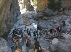 Gorge walking