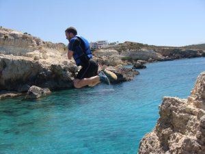 Coasteering in Crete